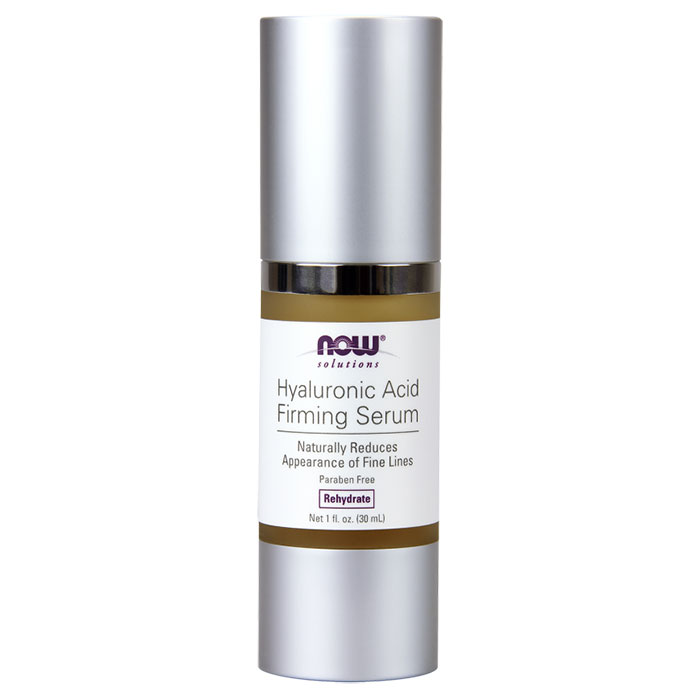 Hyaluronic Acid Firming Serum, 1 oz, NOW Foods