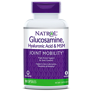 Hyaluronic Acid with MSM & Glucosamine Vegetarian 90 caps from Natrol