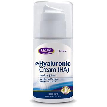 Life-Flo Hyaluronic Cream (Hyaluronic Acid Cream) 3 oz, LifeFlo