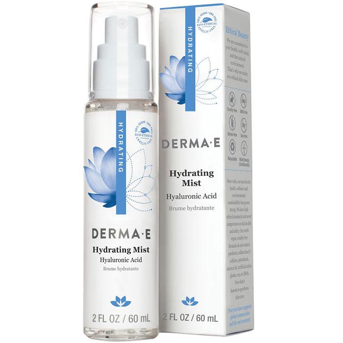 Derma-E Hydrating Mist with Hyaluronic Acid, 2 oz, Derma E