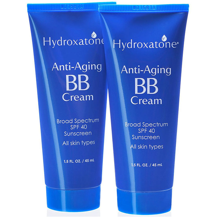 Hydroxatone Anti-Aging BB Cream, 1.5 oz x 2 Pack