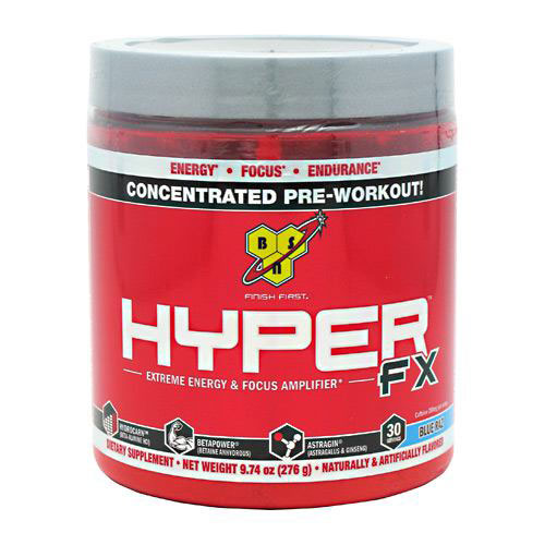 Hyper FX Powder, Concentrated Pre-Workout, 30 Servings, BSN