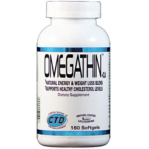 Omegathin, Natural Energy & Weight Loss, 180 Softgels, CTD Labs