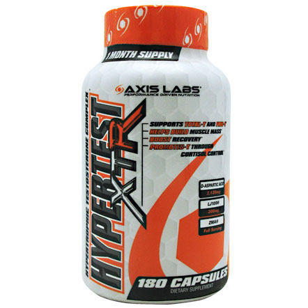 HyperTest, 120 Capsules, Axis Labs - CLICK HERE TO LEARN MORE