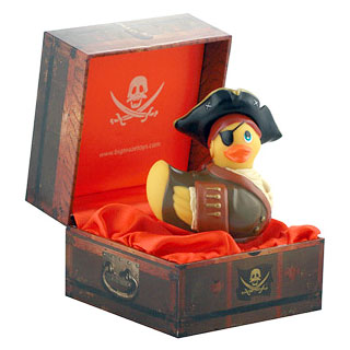 I Rub My Duckie Pirate, Travel Size Personal Massager, Big Teaze Toys