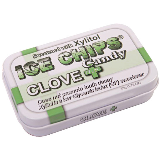 Ice Chips Clove Plus Xylitol Candy, 1.76 oz (50 g)