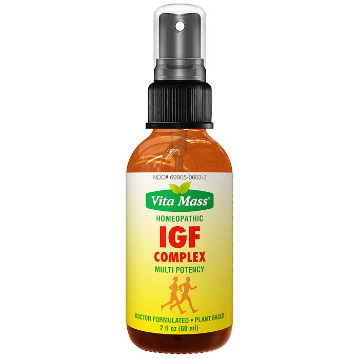 IGF Complex Homeopathic Oral Spray, 2 oz (60 ml), Vita Mass