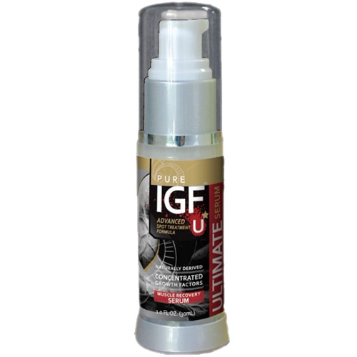 Pure IGF Ultimate Muscle Recovery Serum, 1 oz, Pure Solutions