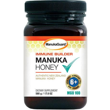 Immune Builder Manuka Honey, MGO 100, Value Size, 17.6 oz, ManukaGuard