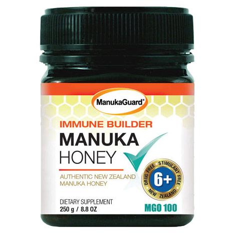 Immune Builder Manuka Honey, MGO 100, 8.8 oz, ManukaGuard