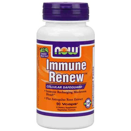 Immune Renew (Mushroom Blend Plus Astragalus) 90 Vcaps, NOW Foods