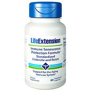 Immune Senescence Protection Formula, Cistanche & Reishi, 60 Vegetarian Capsules, Life Extension