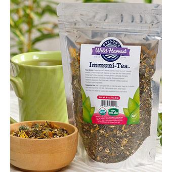 Immuni-Tea, Organic, Value Size, 16 oz, Oregons Wild Harvest