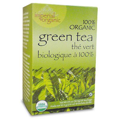 Imperial Organic Green Tea, 18 Tea Bags, Uncle Lee's Tea