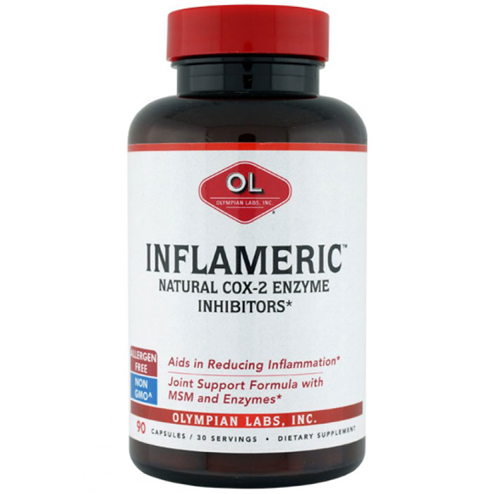 Inflameric, Natural Cox-2 Inhibitor, 90 Capsules, Olympian Labs