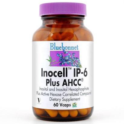 Inocell IP-6 Plus AHCC, 60 Vcaps, Bluebonnet Nutrition