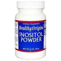 Inositol Powder, 2 oz, Healthy Origins