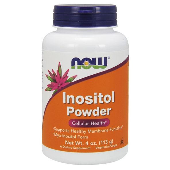 Inositol Powder Vegetarian 4 oz, NOW Foods