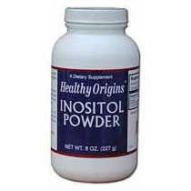 Inositol Powder, 8 oz, Healthy Origins