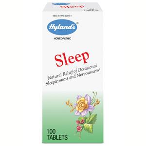 Sleep, Homeopathic Formula, 100 Tablets, Hylands