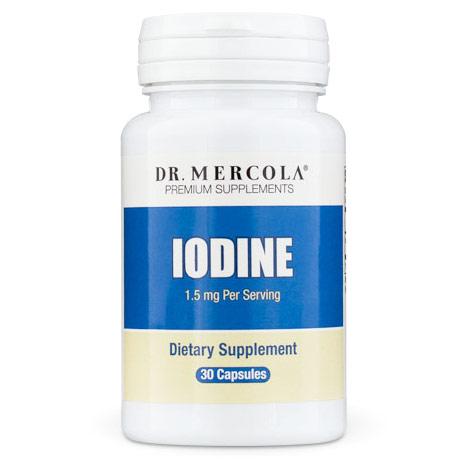 Iodine 1.5 mg, 30 Capsules, Dr. Mercola