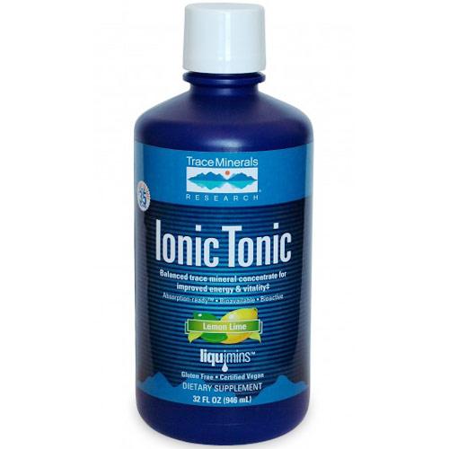 Ionic Tonic Liquid, 32 oz, Trace Minerals Research