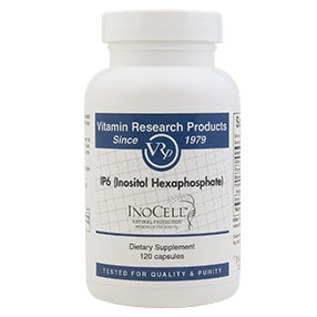 IP6 (Inositol Hexaphosphate), 510 mg, 120 Capsules, Vitamin Research Products