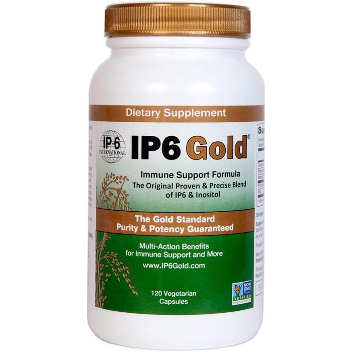 IP6 Gold, Immune Support Formula, 120 Vegetarian Capsules, IP-6 International