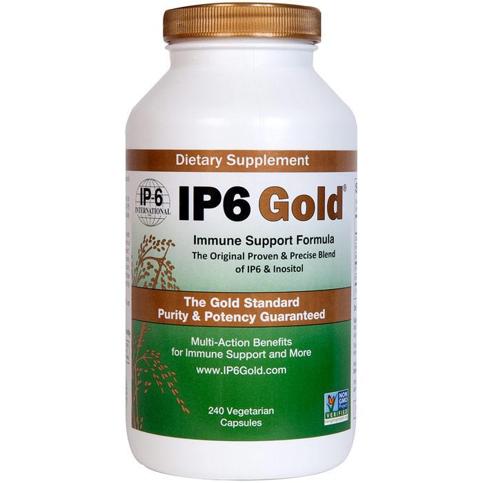 IP6 Gold, Immune Support Formula, Value Size, 240 Vegetarian Capsules, IP-6 International