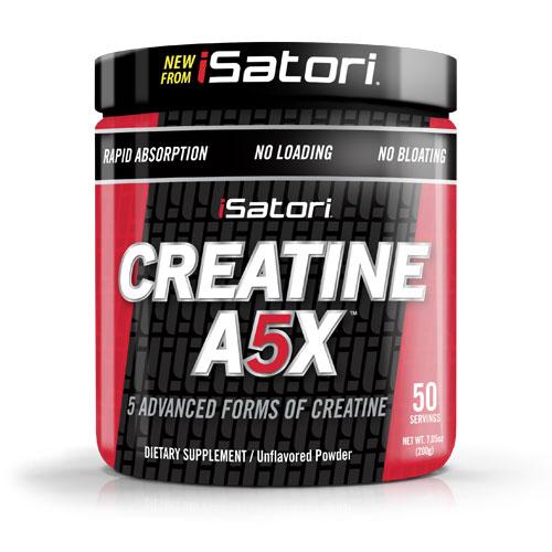 iSatori Creatine A5X, 5 Advanced Forms of Creatine, 7.05 oz (50 Servings)