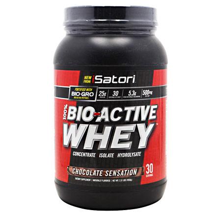 iSatori 100% Bio-Active Whey Protein, 30 Servings