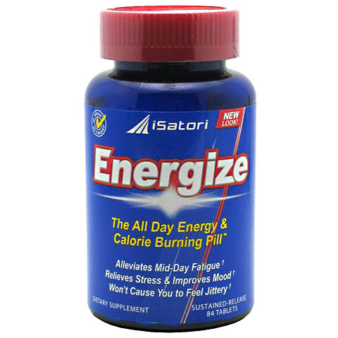 iSatori Energize, All Day Energy Pill, 84 tablets