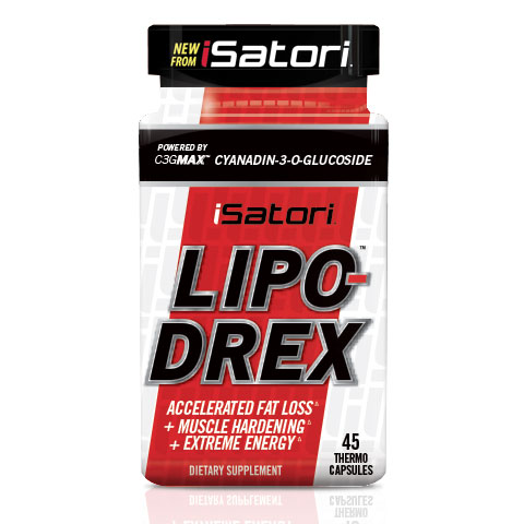 iSatori Lipo-Drex, Accelerated Fat Loss, 45 Capsules