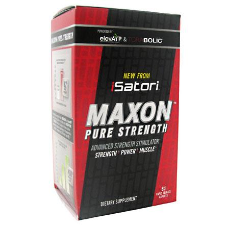 iSatori Maxon Pure Strength, 84 Rapid Release Caplets