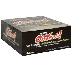 ISS Oh Yeah Bar, High Protein, 85 g x 12 Bars