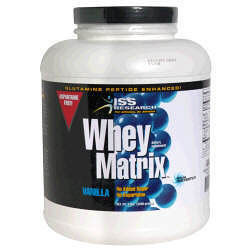 ISS Whey Matrix, Glutamine Peptide Enhanced, 5 lb