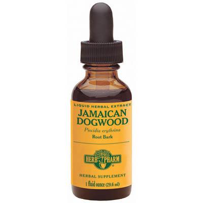 Jamaican Dogwood Extract Liquid, 1 oz, Herb Pharm