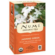 Jasmin Green Tea, 18 Tea Bags, Numi Tea