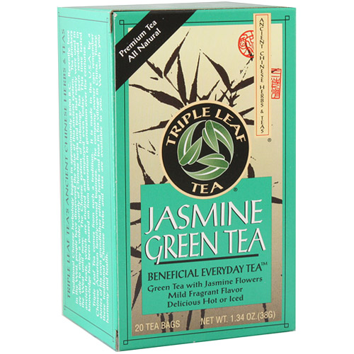 Jasmine Green Tea, 20 Tea Bags x 6 Box, Triple Leaf Tea