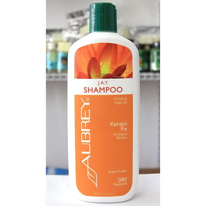 J.A.Y. Shampoo, Keratin & Yangu Oil, 11 oz, Aubrey Organics