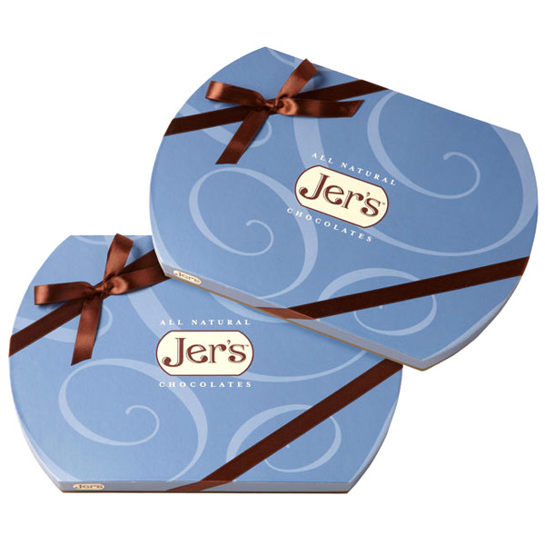 Jers Chocolate Double Delight, (2) 1 lb Gift Boxes