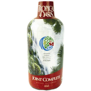 Joint Complete Liquid with Hyaluronic Acid, 32 oz, Tropical Oasis