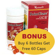 Joint Ease Bonus Pack - Six Bottles (60 Caps) with One Free (60 Caps)