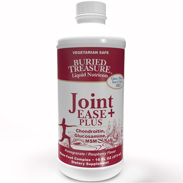 Joint Ease Complete Liquid Supplement, 16 oz, Buried Treasure Liquid Nutrients