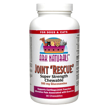Joint Rescue for Pets, Super Strength Chewable 60 tablets from Ark Naturals