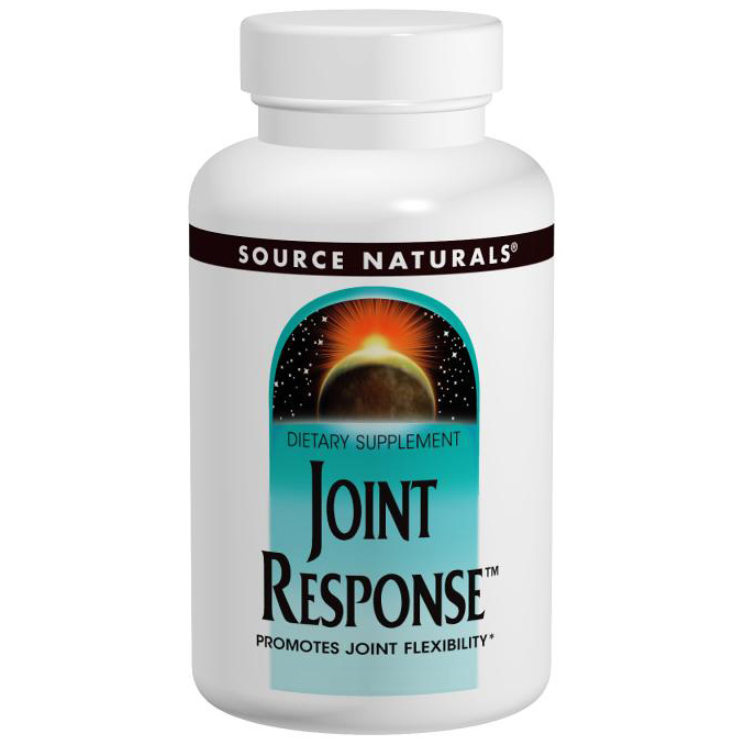 Joint Response (MSM and Glucosamine Complex) 60 tabs from Source Naturals