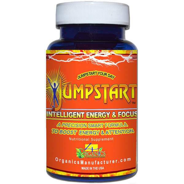 Jumpstart, Smart Formula to Boost Energy & Attention, 30 Capsules, 4 Organics