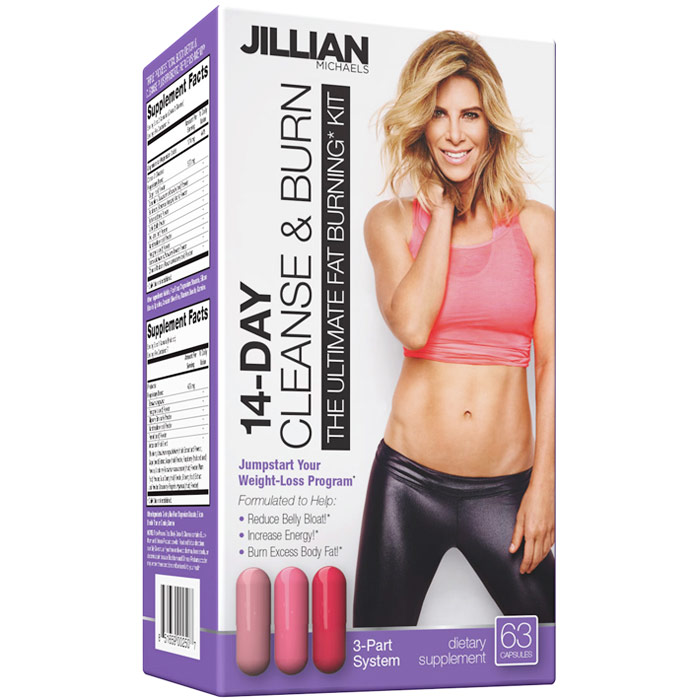 Jillian Michaels JumpStart Kit, 14 Day Cleanse & Burn Weight Loss Program