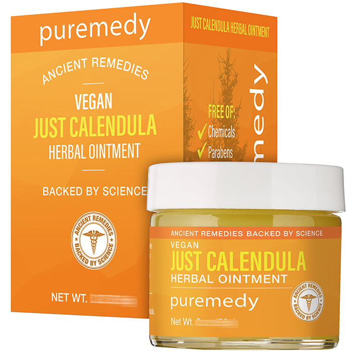 Just Calendula Cream, 1 oz, Puremedy