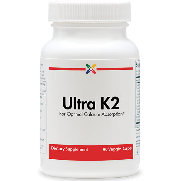 K, Ultra K2, 15 mg, 90 Capsules, Vitamin Research Products - CLICK HERE TO LEARN MORE